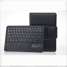 Leather case with detachable bluetooth Keyboard for Tablet PC Nook HD 7 P-NOOKHD7BTHKB001