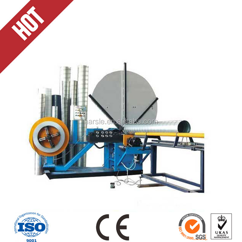 Machinery and equipment automatic bending machine - spiral duct machine (saw cutting) manufacturers, wholesale