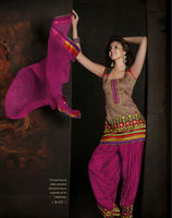 Readymade Punjabi suit Pink colour