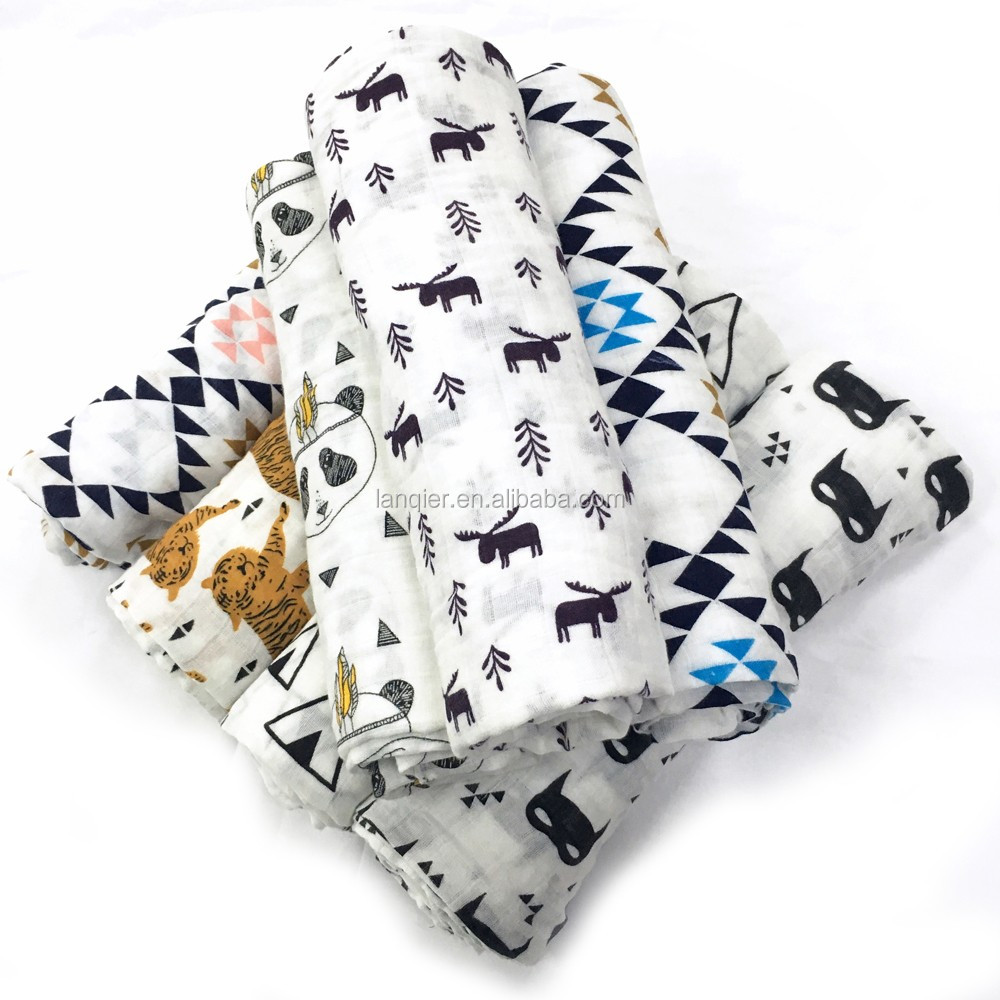 Miracle <strong>baby</strong> 100% cotton <strong>baby</strong> muslin swaddle in wholesales, muslin wraps