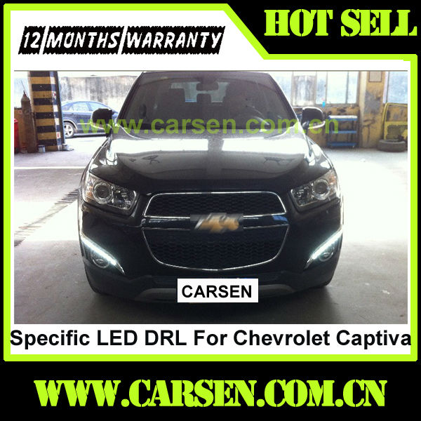 Wholesale -with dimming function- Car Specific LED Lights For Chevrolet Captiva Daytime Running Light 2012+