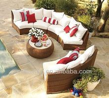 Popular Patio Waterproof rattan outdoor furniture jakarta