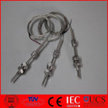 Mineral Insulated thermocouple with thread