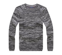 men's high quality winter heavy knitted wool pullover sweater