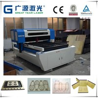 Flat Die Board/Plywood Laser Cutting Machine with high precision Cutting Thickness 18-20mm