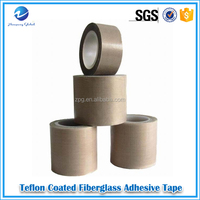 teflon SGS waterproof electrical ptfe industrial fiberglass adhesive tape manufacturer