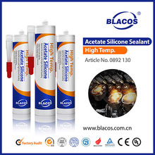 spray heat resistant general purpose acetate silicone sealant