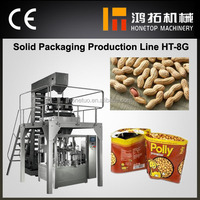 Quality assurance automatic pouch packaging machine for peanut