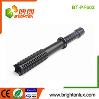 High Quality High Lumen Bright Metal Material Handheld Outdoor police flashlight bailong
