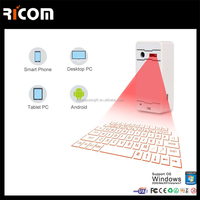 Magic Cube virtual laser keyboard,mini wireless laser keyboard and mouse&speaker for ipad--VK-001--Shenzhen Ricom