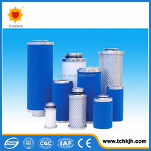 Condensed type filter, compressed air filter for oil remove