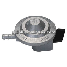High Quality LPG Gas Cylinder Regulator, Zinc Alloy Gas Valve with Child Lock Switch