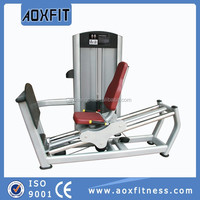 arm and leg exercise equipment bar row fitness equipment body building machine mono lifts AX8816 Seated Leg Press