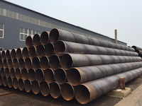 Carbon steel pipe SSAW welded API 5L standard for gas and oil transportation