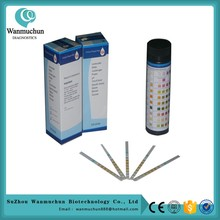 Best price one step blood glucose test strip FDA cleared CE mark for wholesales