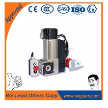 Industrial warehouse roller shutter side motor with manual chain