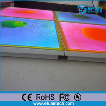 glow liquid vinyl dance tile for disco/party/nightclub,decorative rgb color led 3d liquid floors