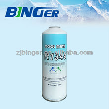 r134 refrigerant gas can's price with high purity for sale