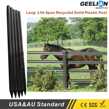 High quality cheap plastic/vinyl/pvc used farm fence for horse fence