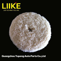 Thick wool meguiar's double side polishing wool pad