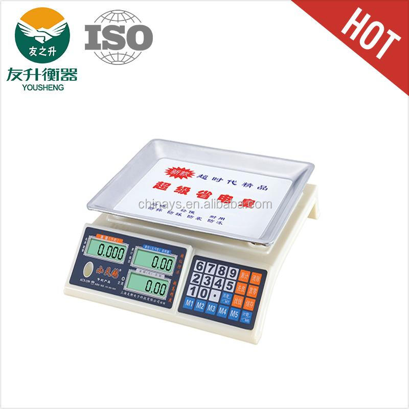 ABS Materials Body Electronic Weighing Scale 40kg Capacity,New Design Nice Appearance,CE,RoHs Certificate,Comfortable Keyboard