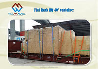 Sea Freight for Flat Rack container project
