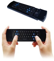 LYNEC C2 2.4G 6-Axis Mini Wireless Keyboard Mouse Remote with Infrared Remote Learning Air Control for PC HTPC IPTV Smart