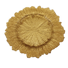 18900 infinity wholesale glass antique gold charger plates