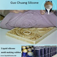 offering liquid silicone gel silicon rubber for concrete stone mold gypsum castiong mold GRC products