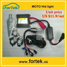 hid light motorcycle hid projector headlights factory price H6M/BA20d/H4/H7 6000K/8000K 35W/55W headlight