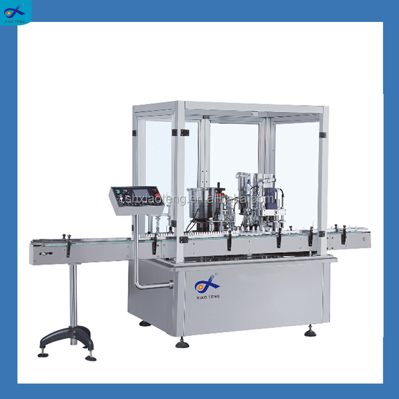 Automatic medical oral liquid syrup filling production line