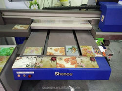 Professional manufacturer Nice looking uv led desk flatbed printer small