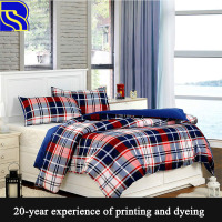 Professional and washable 50% cotton 50% polyester bed sheets