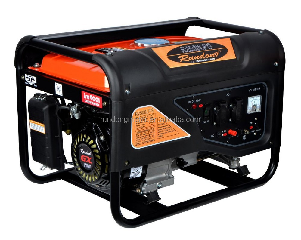 6.5HP 2KW Natural Gas Generator