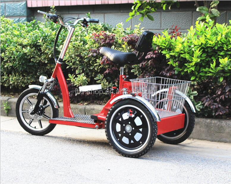 Best 48V Electric Tricycle With 2 Passenger Seats/Basket Strong Lithium Battery 3 Wheel Electric Tricycle For Elders