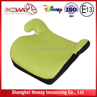 carton design baby car seat cushion/ booster car seat