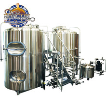 300L Beer Brew Kettle 300L Stainless Steel Mash Tun 300L Brewery Equipment used for Beer Sale