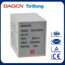 DAQCN Brand APR-3 10A 220V Phase Reversal Relay Device Protected Relay