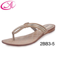 Sexy Ladies Shoes Latest Design PU Leather Chappal 2016