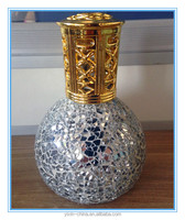 Aromatherapy Fragrance Lamp5/Oil lamp with wick/Mosaic glass oil burner/Home decoration