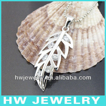 sterling silver leaf jewelry