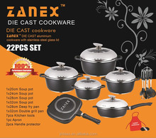 kitchen appliance/die cast aluminum non-stick cookware sets/non stick cookware set/kitchen pot