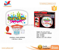 plastic kid basketball hoop indoor games for children