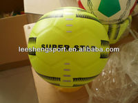 High Quality laminated pvc football soccer