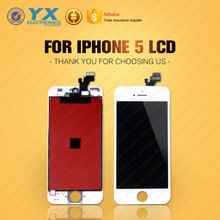 DHL & EMS Free Shipping for apple for iphone 5 a1429 lcd display touch screen digitizer with wholesale price