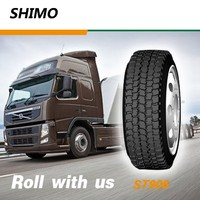 11R22.5 semi truck used tires for sale