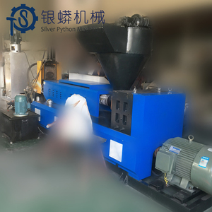 cost plastic recycling machine pe pp double stage compactor pelletizer machine
