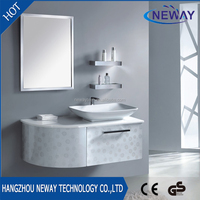 New wall mounted stainless steel corner wash basin price