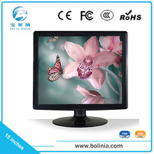 Support OEM/ODM 15 inch 4:3 led monitor with vga input