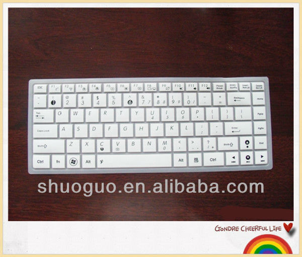 silicone keyboard protector/laptop keyboard cover for asus